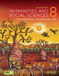 Jacaranda Humanities and Social Sciences 8 for Western Australia 2E LearnON & Print Image