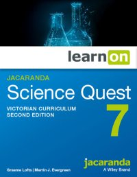 Jacaranda Science Quest 7 for the Victorian Curriculum 2E LearnON (O) Image