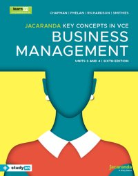 Jacaranda Key Concepts in VCE Business Management Units 3&4 6E LearnON & Print & StudyOn Image