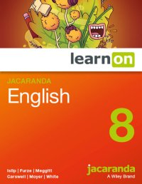 Jacaranda English 8 LearnON (Online Purchase) Image