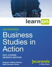 Jacaranda Business Studies in Action HSC Course 7E LearnON (Online Purchase) Image