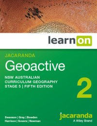 Jacaranda Geoactive 2 NSW Australian Curriculum Geography Stage 5 5E LearnON (Online Purchase) Image