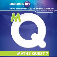 AssessON Maths Quest 7 for New South Wales Australian Curriculum Edition (Online Purchase) Image