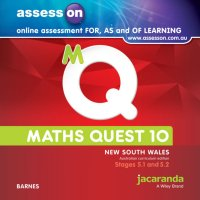 AssessON Maths Quest 10 Pathways 5.1/5.2 for New South Wales Australian Curriculum Edition (Online Purchase) Image