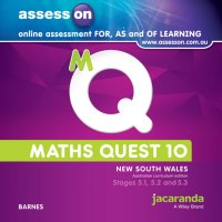 AssessON Maths Quest 10 Pathways 5.1/5.2/5.3 for New South Wales Australian Curriculum Edition (Online Purchase) Image