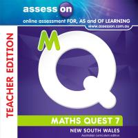 AssessON Maths Quest 7 for New South Wales Australian Curriculum Teacher Edition (Online Purchase) Image