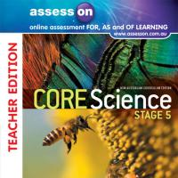 AssessON Core Science Stage 5 New South Wales Australian Curriculum Teacher Edition (Online Purchase) Image