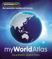 Jacaranda Myworld Atlas (Online Purchase) Image