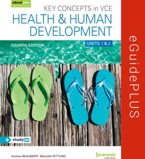 Key Concepts in VCE Health and Human Development Units 1 & 2 4E eGuidePLUS (Online Purchase)