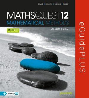 Maths Quest 12 Mathematical Methods VCE Units 3 and 4 eGuidePLUS (Online Purchase)