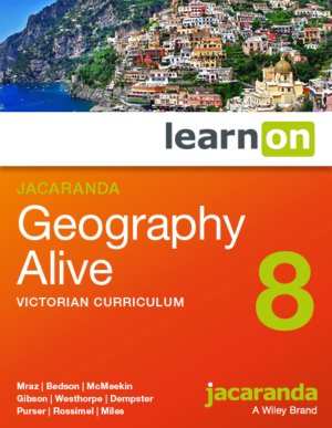 Jacaranda Geography Alive 8 Victorian Curriculum LearnON (Online Purchase)