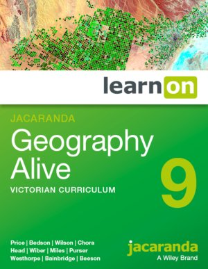 Jacaranda Geography Alive 9 Victorian Curriculum LearnON (Online Purchase)
