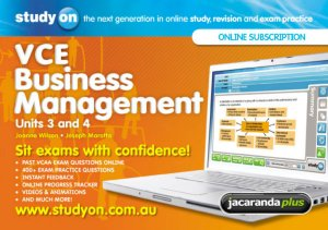 StudyOn VCE Business Management Units 3&4 2E & Booklet