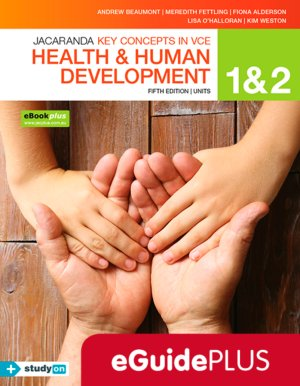 Key Concepts in VCE Health and Human Development Units 1 & 2 5E Eguide (Online Purchase)