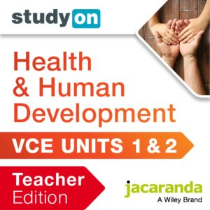 StudyOn VCE Health and Human Development Units 1 and 2 Teacher Edition 2E (Online Purchase)