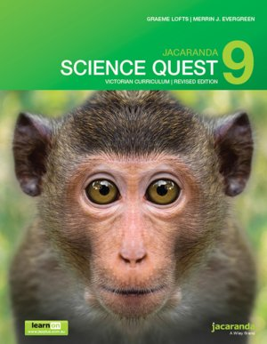 Jacaranda Science Quest 9 for Victoria Australian Curriculum 1E (Revised) LearnON & Print