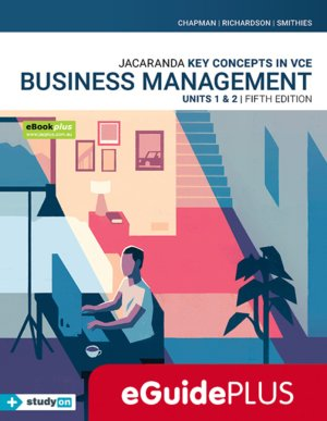 Key Concepts in VCE Business Management Units 1&2 5E eGuidePLUS (Online Purchase)