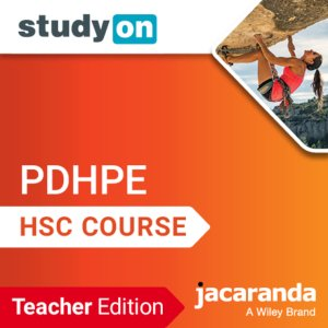 StudyOn HSC Personal Development, Health and Physical Education 2E Teacher Edition (Codes Emailed)