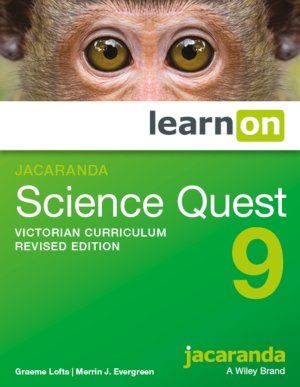 Jacaranda Science Quest 9 Victorian Curriculum    Revised Edition LearnON (Online Purchase)