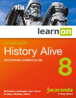 Jacaranda History Alive 8 Victorian Curriculum LearnON (Online Purchase)