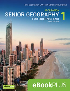 Jacaranda Senior Geography 1 for Queensland Units 1&2 3E eBookPLUS (Online Purchase)