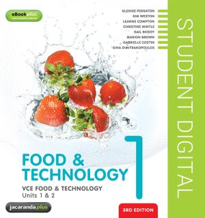 VCE Food & Technology Units 1 & 2 3E eBookPLUS (Online Purchase)