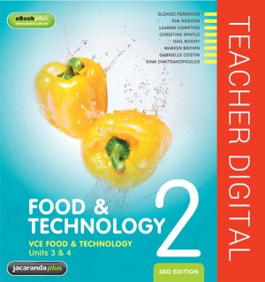 VCE Food & Technology Units 3 & 4 Book 2 3E eGuidePLUS (Online Purchase)
